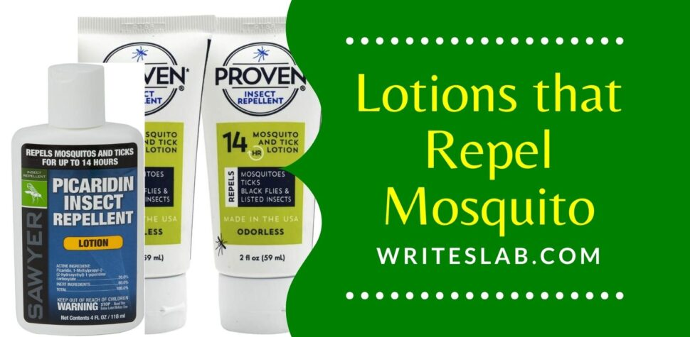 Lotions that Repel Mosquito