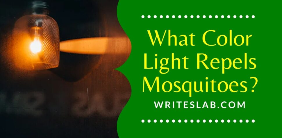 What Color Light Repels Mosquitoes?